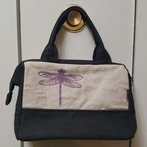 New waxed canvas handbag